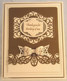 Pale pink (blush card) and chestnut brown for today's offering. I used the French Collection Provence die insert to cut a pretty shape in the background of the card. To add a Sue Wilson Dies, French Collection, Spellbinders Cards, Paper Fans, Die Cut Cards, Card Maker, Scrapbook Cards, Scrapbooking, Making Ideas