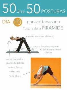 50 días 50 posturas. Día 10. Postura de la pirámide
