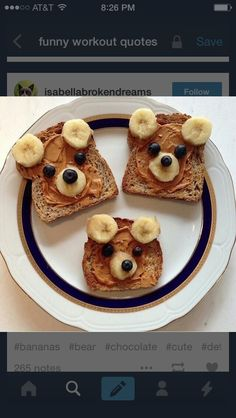 about these super cute and HEALTHY toddler snacks? - How about these super cute and HEALTHY toddler snacks? These are some of our fa … – -How about these super cute and HEALTHY toddler snacks? Healthy Toddler Snacks, Eat Healthy, Happy Healthy, Healthy Kid Food, Healthy Recipes, Breakfast For Children, Food Ideas For Toddlers, Healthy Snacks For Kids On The Go, Kids Birthday Breakfast