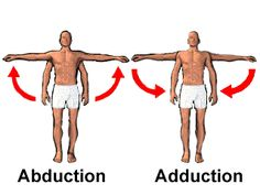 Abduction vs Adduction…picture truly worth a thousand words 