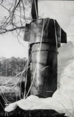 Whoops.  In 1961 the US Air Force accidentally dropped 2 nuclear bombs on North Carolina. Luckily neither exploded.