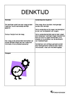 Denktijd Flipped Classroom, Cooperative Learning, Love My Job, Coaching, Diy School, School, Index Cards, Theory, Training