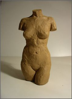 Female torso sculpture. Beautiful proportions.