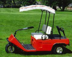 Electric Golf Cart Vintage Golf Pinterest Electric