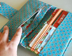 Free Wallet Pattern- sewing purses and bags