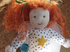 Guardian Angel doll soft fabric Angel doll Michelle OOAK