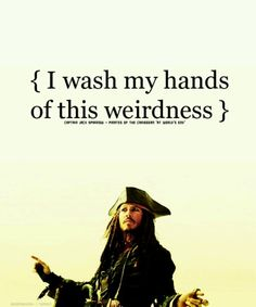 captain jack sparrow:)