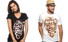 Sevenly: designing a new shirt for a different organization every week. Raising awareness AND support.