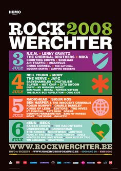 Rock Werchter 2008 - History - Rock Werchter 2015
