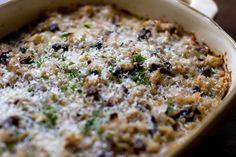 Mushroom Casserole - an alternative to green bean casserole?