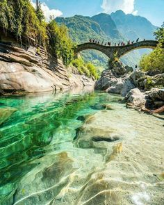 Canton Ticino, Switzerland – Kanton Tessin, Schweiz – Related posts: No related posts. Cool Places To Visit, Places To Travel, Places To Go, Travel Destinations, Holiday Destinations, Best Places In Portugal, Rainbow Waterfall, Forest Waterfall, Paisajes
