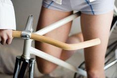 Wooden Bicycle Handlebars
