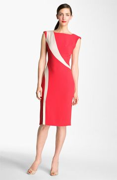 I love this dress, but think you'll need a specific figure to pull it off. so lovely.     Rachel Roy Inset Dress available at Nordstrom