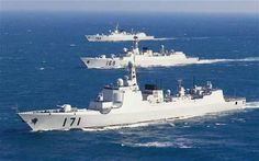 Chinese_Navy_ships - China 3rd in Global Firepower ranking