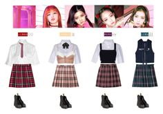 """""""BLACKPINK - AS IF IT'S YOUR LAST❤️"""" by vvvan99 ❤ liked on Polyvore featuring Alexander Wang, Equipment, Zimmermann, Yves Saint Laurent, Dr. Martens, Chanel and Cathy Waterman"""
