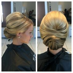 Beautiful and classy updo