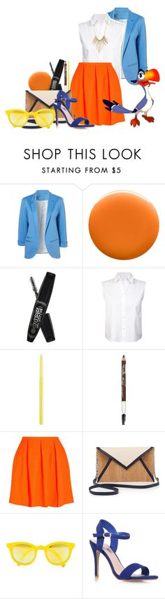 """""""Zazu - The Lion King"""" by alexxhutcherson ❤ liked on Polyvore featuring Uslu Airlines, Rimmel, T By Alexander Wang, Stila, Maybelline, Opening Ceremony, Pelcor, Sunpocket, Miss KG and Charlotte Russe"""
