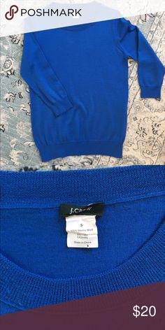 Tippi Sweater Blue tippi sweater J. Crew Sweaters Crew & Scoop Necks