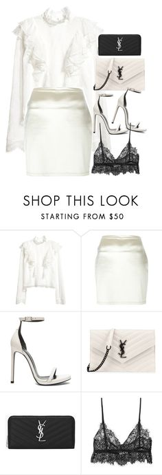 """""""Sem título #1454"""" by oh-its-anna ❤ liked on Polyvore featuring Romeo Gigli and Yves Saint Laurent"""