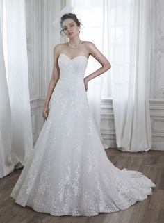 Corrina - by Maggie Sottero Come check out the rest at Blossoms Bridal! http://blossomsbridal.com/