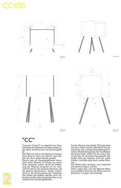 Concrete Design Competition 2014/2015 Anerkennung - CC030 - CC  Swaantje Olescher     Hochschule Ostwestfalen-Lippe