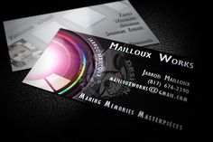 Inspiring And Creative Photography Business Cards Sample With Double Side Design By Hyperdesign