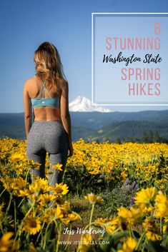The best spring hikes in Washington State! Including my favorite waterfall, wildflower, and early season alpine lake trails. Washington Dc Area, Hiking Washington State, Hiking Essentials, Waterfall Hikes, Falls Creek, Columbia River Gorge, Alpine Lake, Hiking Trails, Pacific Northwest