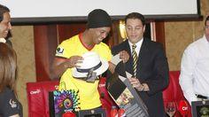 """Pancho Cevallos: """"Mantenemos contacto con Ronaldinho Gaúcho"""""""
