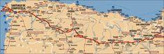 camino-frances map