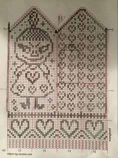 Baby Knitting Patterns Mittens v Crochet Baby Mittens, Knitted Mittens Pattern, Knit Mittens, Knitting Socks, Knit Crochet, Knitting Charts, Free Knitting, Baby Knitting, Knitting Patterns