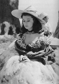 What is this lack of Vivien on my dash tonight? Fixing it… with one of my favorite bts photos of her from GWTW. There. Stare at the pretty, ya'all.