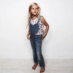 #NorajukuStylist Picks: Heart Shaped Overalls! Mini fashionista in the making #KidsFashion