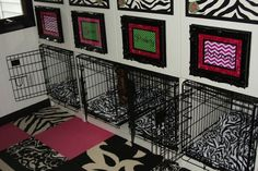 If It's Not Baroque...: IKEA hack dog crate shelves
