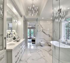 32 ultra modern master bathroom ideas to inspire your next renovation 13 – Luxury bathroom - Bathroom Ideas Small Apartment Bedrooms, Big Bedrooms, Bad Inspiration, Bathroom Inspiration, Bathroom Ideas, Bathroom Organization, Bathroom Mirrors, Bathroom Cabinets, Bathroom Storage