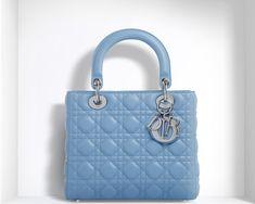 baby blue lady dior bag