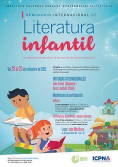 Teresa Clotilde Ojeda Sánchez: 1er. Seminario Internacional de Literatura Infanti...