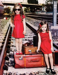 red dress for kids! @ maisonmarasil.com