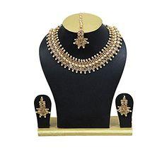 Indian Bollywood Necklace Set Ethnic Traditional Bridal W... https://www.amazon.com/dp/B07B6NHZZZ/ref=cm_sw_r_pi_dp_U_x_PIDSAb1QVC55N