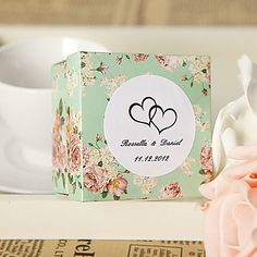 Personalized Country Style Favor Box (Set of 24) – USD $ 19.99