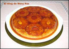 El blog de Mary Paz: Tarta de Piña