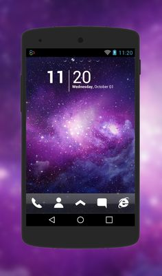 """""""Transparent Space"""" Android Theme. Free download  http://androidlooks.com/theme/t0900-transparent-space/ #android, #androidthemes, #customization, #space, #goLauncher"""