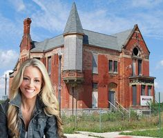"Nicole Curtis: Brush Park Ruin Begins Rehab This Summer - Preservation Win - Curbed DetroitOne of Brush Park's signature ruins just hit the jackpot. Detroit native and ""Rehab Addict"" star Nicole Curtis revealed yesterday that the Ransom Gillis House would likely be her next project. ""We have been staring down Brush Park for a long time,"" Curtis said in an interview with WXYZ. ""I think we've finally found a way to make the numbers work."""