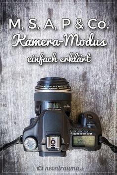 Keine Angst vor dem Modus-Wahlrad deiner Kamera! :)