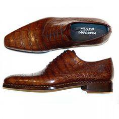 Magnanni Seleccion Collection - 14522 - Brown Croco | PelleLine.com