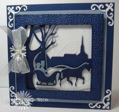 Fantabulous Cricut Challenge Blog: FCCB #190: Holiday Cards