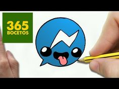 COMO DIBUJAR LOGO MESSENGER KAWAII PASO A PASO - Dibujos kawaii faciles - How to…