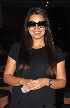 Indian Bollywood actress Mahima Chaudhary attends the Summer Funk 2012 dance by cinematographer Shiamak Davar, during the screening of his pop music video show in Mumbai.