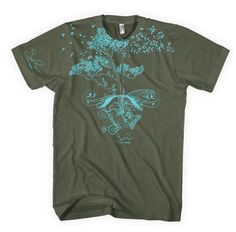 Conservation t-shirt on Etsy, $42.00...worth every penny to support a good cause (conservation), an amazing artist (chad brown), and a small business (Soul River).