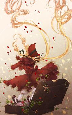 anime: rozen maiden, shinku