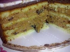 recheio ameixa                                                                                                                                                     Mais Sweet Recipes, Cake Recipes, Brazillian Food, Delicious Desserts, Yummy Food, Cake Piping, Diy Cake, Party Cakes, Cakes And More